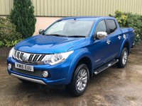 USED 2016 16 MITSUBISHI L200 2.4 DI-D 4X4 BARBARIAN DCB 1d AUTO 178 BHP AUTO, BEST COLOUR, LEATHER, SAT NAV, REVERSE CAMERA, LINER, ALLOYS, ROLLER SHUTTER