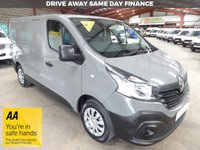 "USED 2016 16 RENAULT TRAFIC 1.6 SL27 BUSINESS ENERGY DCI S/R P/V 120 BHP SWB VAN ""YOU'RE IN SAFE HANDS"" - AA DEALER PROMISE"