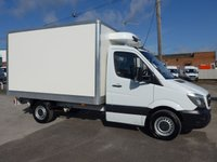 USED 2015 15 MERCEDES-BENZ SPRINTER 313 CDI MWB CHILLER WITH STANDBY, 130 BHP [EURO 5], ALMOST NEW