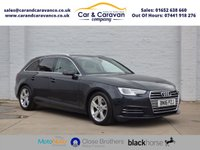 USED 2016 16 AUDI A4 2.0 AVANT TDI ULTRA SPORT 5d 148 BHP One Owner Full AUDI History Buy Now, Pay Later Finance!