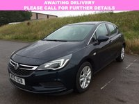 USED 2016 16 VAUXHALL ASTRA 1.6 DESIGN CDTI 5d AUTO 134 BHP 1 OWNER | DAB | AIR CON |