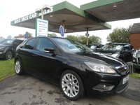 2009 FORD FOCUS 1.6 ZETEC 5d 100 BHP 7 SERVICE STAMPS £SOLD