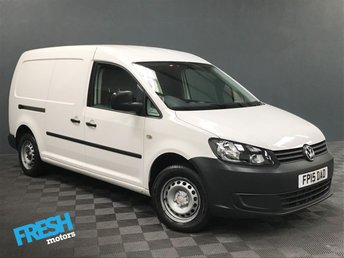 2015 VOLKSWAGEN CADDY MAXI 1.6 C20 TDI STARTLINE BLUEMOTION TECHNOLOGY £9500.00