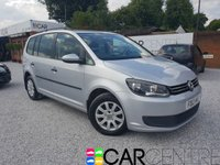 USED 2012 12 VOLKSWAGEN TOURAN 1.6 S TDI 5d 106 BHP 1 PREVIOUS OWNER +FULL SERVICE