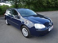 USED 2007 07 VOLKSWAGEN GOLF 1.4 S 5d 79 BHP
