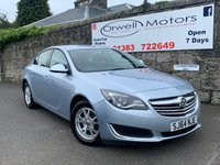 USED 2015 64 VAUXHALL INSIGNIA 2.0 DESIGN NAV CDTI ECOFLEX S/S 5d 138 BHP FINANCE AVAILABLE+SATELLITE NAVIGATION+CRUISE CONTROL+FULL SERVICE HISTORY