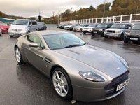 USED 2008 58 ASTON MARTIN VANTAGE 4.3 V8 3d 380 BHP Tungsten Silver Grey metallic with Cream leather, 10 Aston services