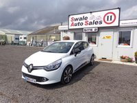 USED 2015 65 RENAULT CLIO 1.5 DYNAMIQUE S NAV DCI 5d 89 BHP £35 PER WEEK, NO DEPOSIT - SEE FINANCE LINK