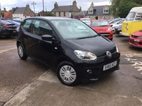 USED 2015 65 VOLKSWAGEN UP 1.0 MOVE UP 3d AUTO 59 BHP LOW MILEAGE AUTOMATIC WITH FULL MAIN DEALER SERVICE HISTORY UP TO 33,935 MILES ( FIND ANOTHER)