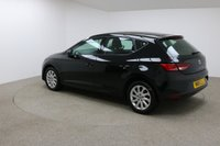 USED 2015 15 SEAT LEON 1.6 TDI SE TECHNOLOGY 5d 105 BHP Finished in a stunning black is this Seat Leon + SAT-NAV + CRUISE CONTROL + BLUETOOTH + LED HEADLIGHTS + FREE ROAD TAX + 1 OWNER