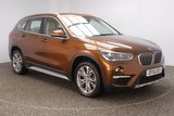 USED 2016 16 BMW X1 2.0 SDRIVE18D XLINE 5DR SAT NAV HEATED LEATHER SEATS 1 OWNER AUTO 148 BHP FULL BMW SERVICE HISTORY + LOW MILEAGE + HEATED LEATHER SEATS + SATELLITE NAVIGATION + PARKING SENSOR + BLUETOOTH + CLIMATE CONTROL + XENON HEADLIGHTS + DAB RADIO + MULTI FUNCTION WHEEL + ELECTRIC WINDOWS + ELECTRIC MIRRORS + 18 INCH ALLOY WHEELS