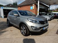 USED 2011 61 KIA SPORTAGE 2.0 CRDI KX-3 5d 134 BHP HEATED FRONT AND REAR SEATS,TWO KEYS,BLUETOOTH,PAN ROOF,GOOD HISTORY