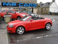 USED 2003 T AUDI TT 1.8 ROADSTER 2d 148 BHP ONLY 85000 MILES FROM NEW