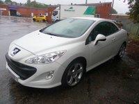 2011 PEUGEOT 308 2.0 CC GT HDI 2d 140 BHP £4495.00