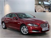 USED 2014 63 JAGUAR XF 2.2 D LUXURY AUTO [200 BHP]