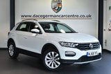 "USED 2018 68 VOLKSWAGEN T-ROC 1.0 SE TSI 5DR 114 BHP full service history * NO ADMIN FEES * FINISHED IN STUNNING PURE WHITE WITH CLOTH UPHOLSTERY + FULL SERVICE HISTORY + BLUETOOTH + DAB RADIO + CRUISE CONTROL + TOUCHSCREEN + HEATED MIRRORS + USB/AUX PORT + PARKING SENSORS + 17"" ALLOY WHEELS"