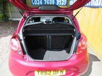 USED 2012 62 FORD KA 1.2 TITANIUM 3d 69 BHP FSH, BLUETOOTH, USB INPUT