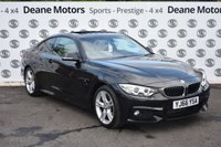 USED 2016 66 BMW 4 SERIES 2.0 420D M SPORT 2d AUTO 188 BHP SUNROOF PRO MEDIA