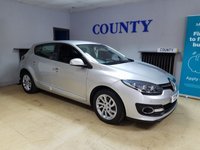 USED 2015 15 RENAULT MEGANE 1.5 DYNAMIQUE TOMTOM ENERGY DCI S/S 5d 110 BHP * TWO OWNERS * FULL HISTORY *