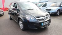 USED 2010 60 VAUXHALL ZAFIRA 1.7 EXCLUSIV CDTI ECOFLEX 5d 108 BHP LOW DEPOSIT OR NO DEPOSIT FINANCE AVAILABLE