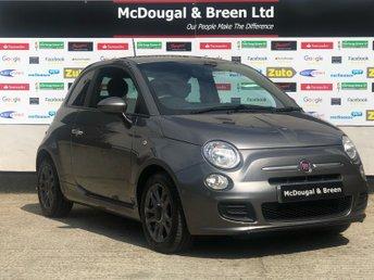 2014 FIAT 500 1.2 S 3d 69 BHP £4699.00