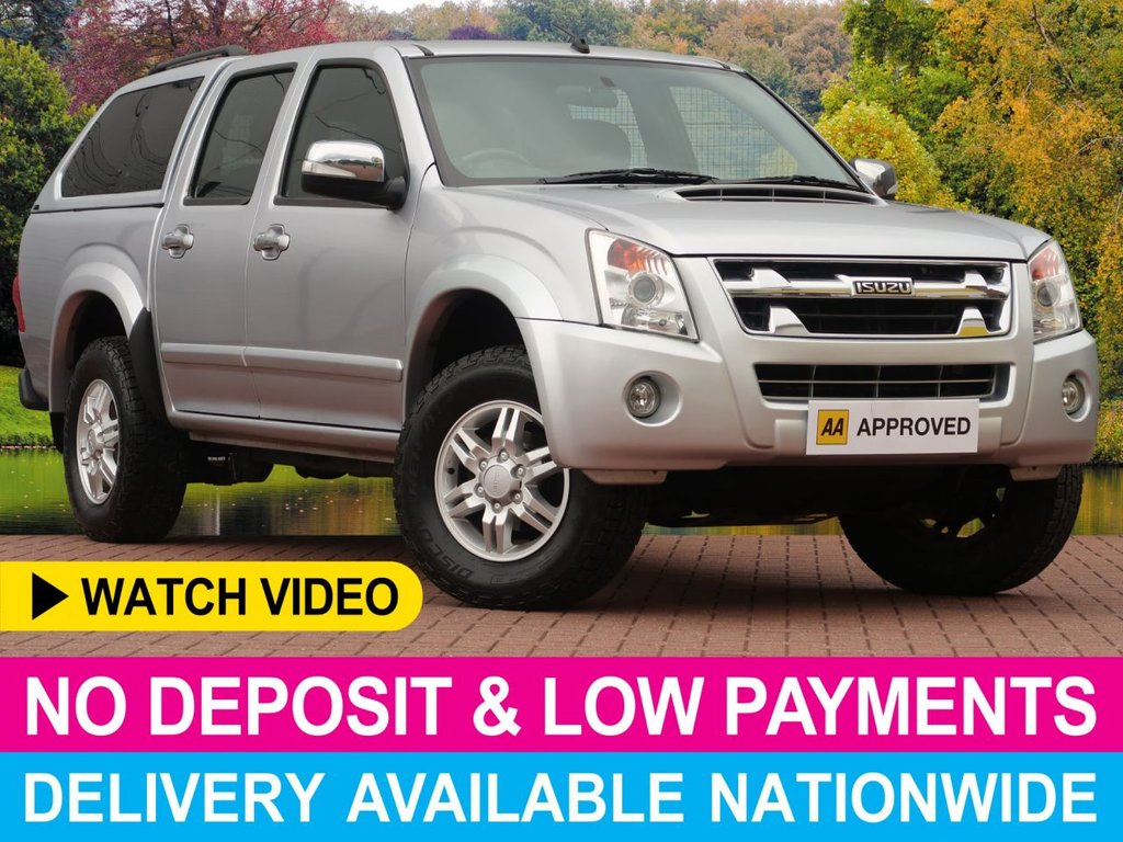 USED 2012 12 ISUZU RODEO DENVER 2.5 TD DOUBLE CAB PICKUP HARDTOP CANOPY HARDTOP CANOPY AIR CONDITIONING ALLOY WHEELS
