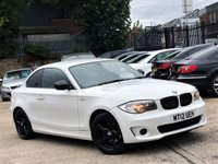2012 BMW 1 SERIES 2.0 118D EXCLUSIVE EDITION 2d 141 BHP £7777.00