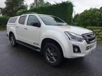 USED 2018 18 ISUZU D-MAX BLADE 4X4 DOUBLE CAB PICK UP 1.9TD 161 BHP Direct From Leasing Company, 10000 Miles & Ballance Of 5 Year Warranty Remaining! Top Of Range Model With Additional Glazed Top & Tow Pack