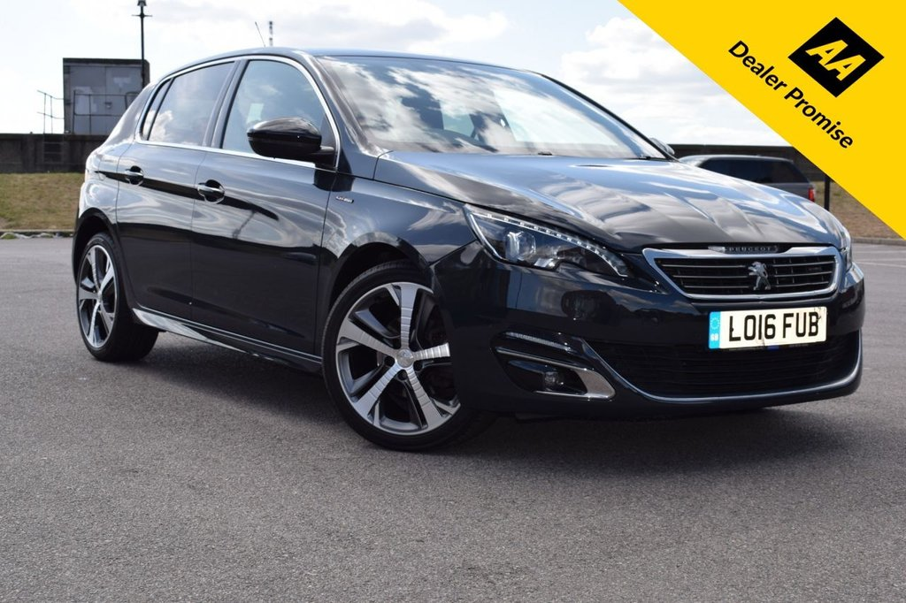 USED 2016 16 PEUGEOT 308 1.6 BLUE HDI S/S GT LINE 5d AUTO 120 BHP