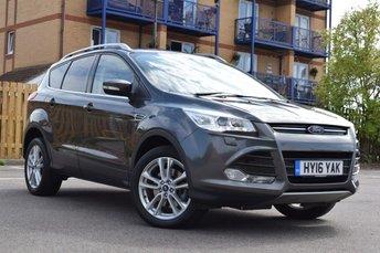 2016 FORD KUGA 1.5 TITANIUM X 5d AUTO 180 BHP £15978.00