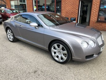 2008 BENTLEY CONTINENTAL 6.0 GT 2DOOR AUTO 550 BHP £29990.00