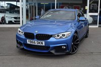 USED 2016 66 BMW 4 SERIES 2.0 420D M SPORT 2d AUTO 188 BHP FINANCE TODAY WITH NO DEPOSIT