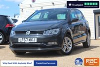 USED 2017 67 VOLKSWAGEN POLO 1.2 MATCH EDITION TSI 5d 89 BHP