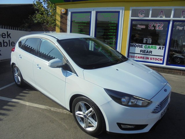 USED 2017 67 FORD FOCUS 1.0 ZETEC EDITION 5d 124 BHP ** 01922 494874** JUST ARRIVED ** FULL SERVICE HISTORY **
