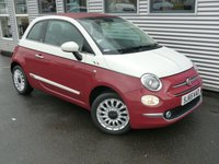 2015 FIAT 500 1.2 C LOUNGE 3d 69 BHP £7480.00