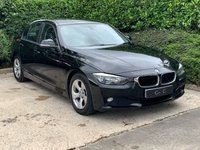 USED 2014 14 BMW 3 SERIES 2.0 320D EFFICIENTDYNAMICS 4d AUTO 161 BHP FULL BMW SERVICE HISTORY BMW PRO SAT NAV HEATED CLOTH TRIM FRONT AND REAR PARKING SENSORS ALL PREVIOUS MOT'S AND MOST SERVICE INVOICES SUPERB DRIVER GOOD CONDITION THROUGHOUT