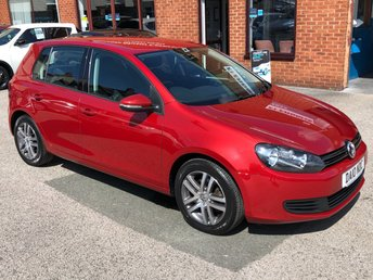 2010 VOLKSWAGEN GOLF 2.0 SE TDI 5DOOR 138 BHP £4838.00