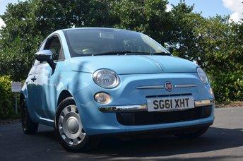 2011 FIAT 500 1.2 POP 3d 69 BHP £3495.00