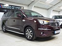 USED 2016 16 SSANGYONG RODIUS TURISMO 2.2 ELX 5d AUTO 176 BHP