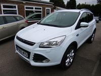 USED 2015 65 FORD KUGA 1.5 ZETEC ECOBOOST 150 BHP THIS VEHICLE IS AT SITE 1 - TO VIEW CALL US ON 01903 892224