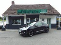 USED 2013 63 CITROEN DS3 1.6L DSTYLE PLUS 3d 120 BHP FINANCE AND PART EXCHANGE WELCOME. 3 MONTHS WARRANTY. ALL CARS HAVE A YEAR MOT AND A FRESH SERVICE.