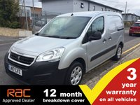 2017 PEUGEOT PARTNER L1 850 Professional 100ps  £7945.00