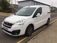 2017 PEUGEOT PARTNER L1 850 Professional 100ps (Look Pack, Front PDC & Folding Mirrors) £8600.00