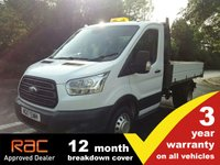 2017 FORD TRANSIT TIPPER 350 L2 RWD DRW 1-Stop 130ps £16495.00