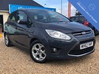 USED 2012 62 FORD C-MAX 1.6 ZETEC TDCI 5d 114 BHP Low Mileage Diesel with just £30 Road Tax