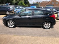 USED 2012 62 FORD FOCUS 1.6 ZETEC TDCI 5d 113 BHP GREAT FUEL ECONOMY AND PERFORMANCE, £20 PER YEAR TAX,  SUPPLIED WITH A NEW MOT