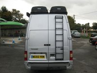 USED 2005 55 FORD TRANSIT 2.4 350E 1d 140 BHP Transit camper van 2 berth with many practical features including Solar power, Sink, Fridge, BBQ Side awning, TV Sound system. Internal heating. Very good security.