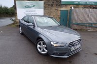 USED 2013 63 AUDI A4 2.0 TDI SE 4d 134 BHP Full Service History Two Owners Only £30 Road Tax