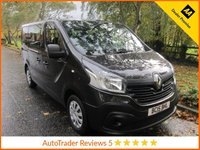 USED 2015 15 RENAULT TRAFIC 1.6 SL27 BUSINESS DCI 5d 115 BHP Fantastic Nine Seat Renault Traffic Business Minibus with Air Conditioning, Sliding Rear Doors, Metallic Paint and Service History