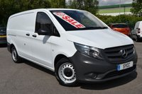 USED 2016 16 MERCEDES-BENZ VITO 2.1 114 BLUETEC 5d LONG LWB 136 BHP AUTOMATIC RARE AUTOMATIC ~ 1 OWNER ~ 2 KEYS ~ TAILGATE ~ 6 MONTHS WARRANTY